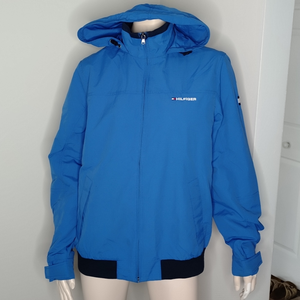 Tommy Hilfiger Men's Yacht Zip Jacket Hooded Coat